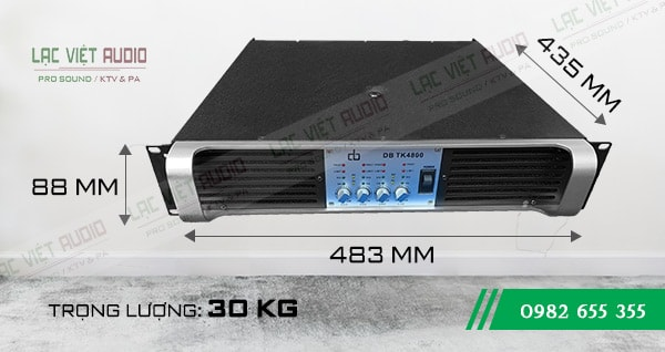 Kích thước Cục đẩy DB TK4800