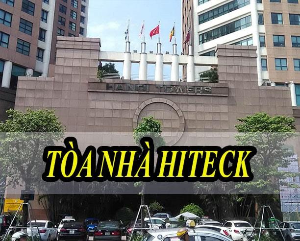Âm thanh hội trường tòa nhà Hiteck