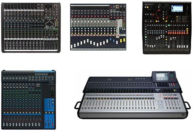 Lạc Việt Audio phân phối các bàn mixer thương hiệu lớn trên thế giới