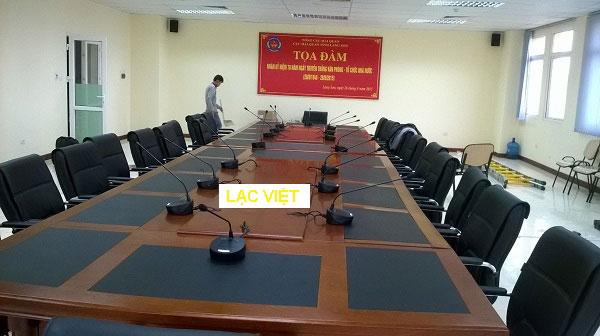 Lắp đặt hệ thống TOA TS-680 cho phòng họp cao cấp