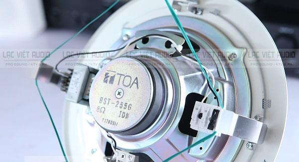 Loa âm trần 15W Toa PC-2852 trang bị củ nam châm chất lượng cao