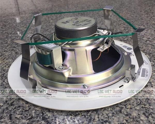 Hình thực tế mặt ngang của loa TOA PC-2852