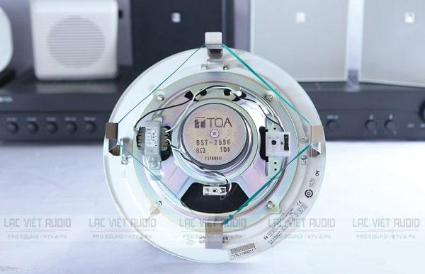 Loa âm trần Toa 15W PC-2852 hoạt động ổn định, độ bền cao