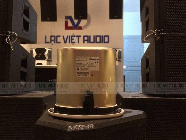 TOA F-2322C có công suất mạnh mẽ lên đến 30W