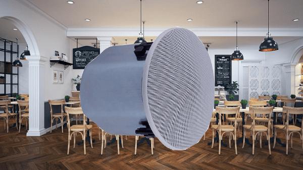 Loa âm trần Toa 30W F-2352C sử dụng cho quán cafe, nhà hàng,...