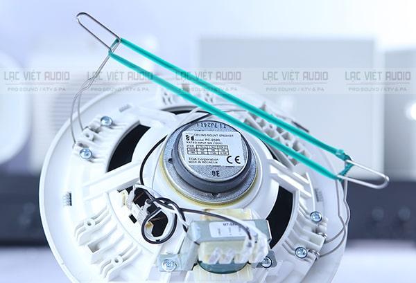 Loa âm trần Toa 6W pc-658r có khả năng hoạt động cực tốt