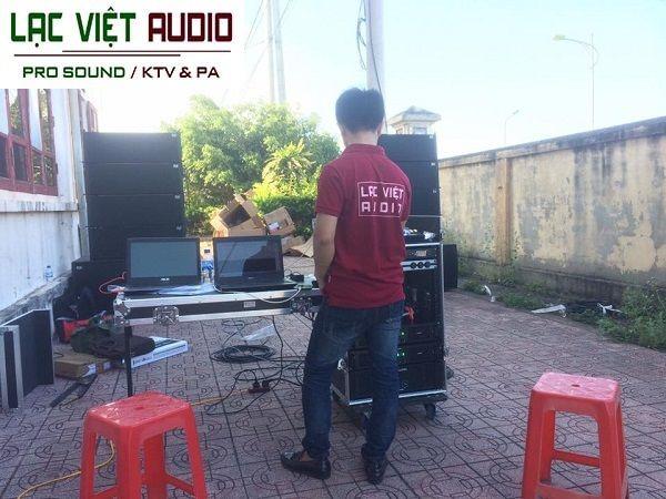 Hệ thống âm thanh với tất cả những thiết bị âm thanh chất lượng cao do Lạc Việt Audio cung cấp