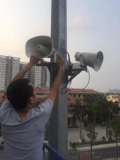 Lạc Việt cung cấp lắp đặt loa nén TOA