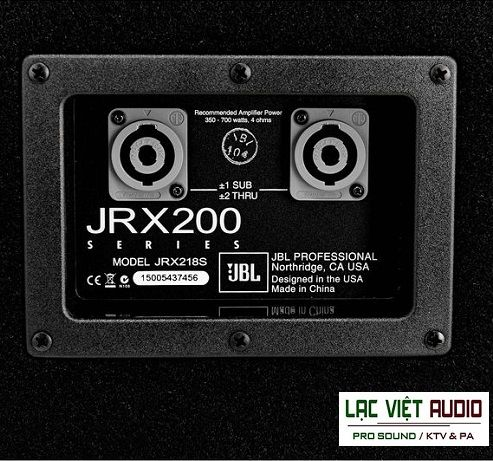 Slider loa JBL JRX 218S – Loa subwoofer