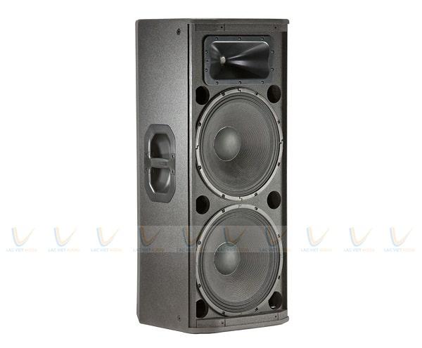 Loa JBL PRX425 cho ra âm thanh mạnh mẽ, bùng nổ