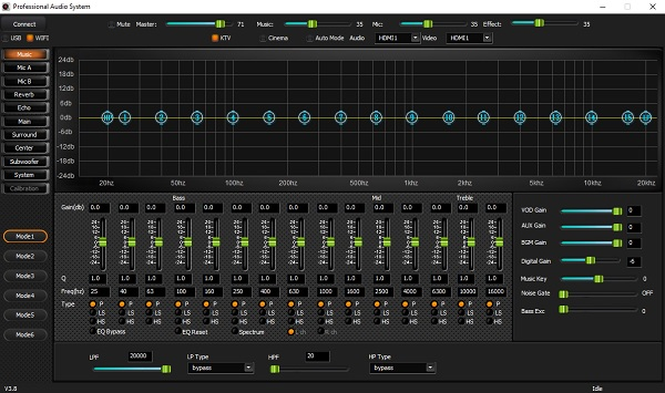 Hình ảnh giao diện phần mềm DB AK8 phiên bản V3.8