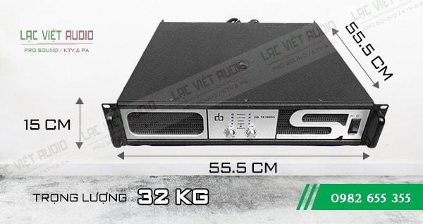 Kích thước Cục đẩy DB TK1600S