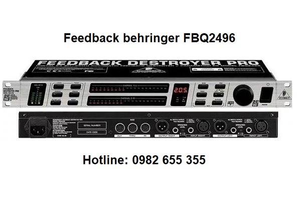 chống hú micro Fbehringer FBQ2496