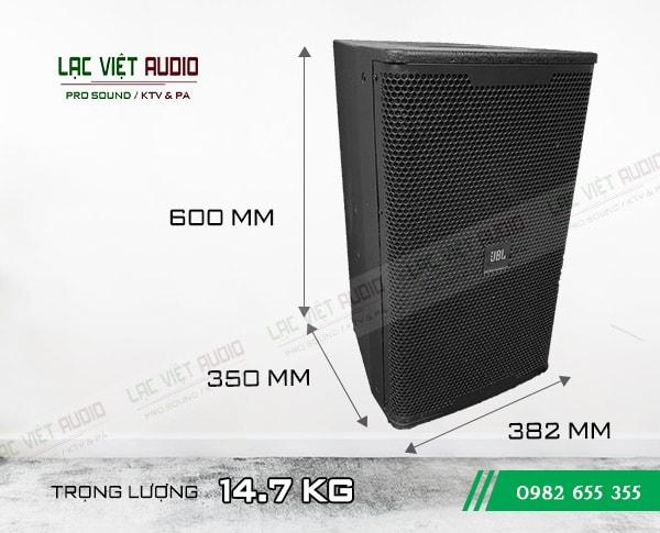 Kích thước của Loa karaoke JBL KP 6012