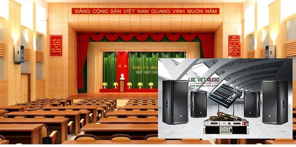 Dàn âm thanh sân khấu 50 triệu được sử dụng phổ biến cho hội trường