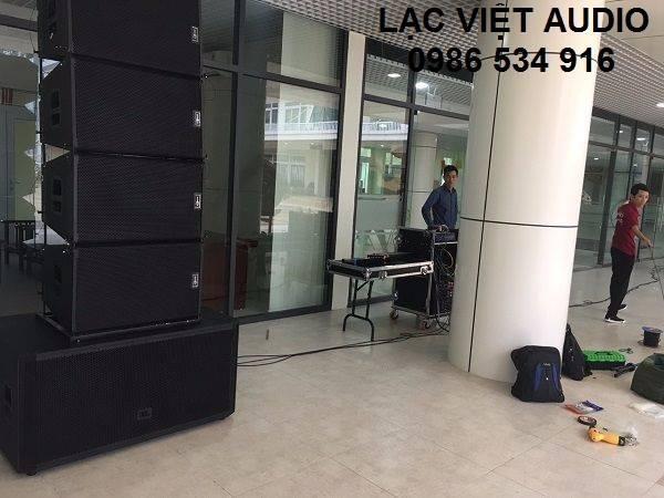 Dàn âm thanh 120 triệu được cung cấp cho trường THCS Thanh Xuân