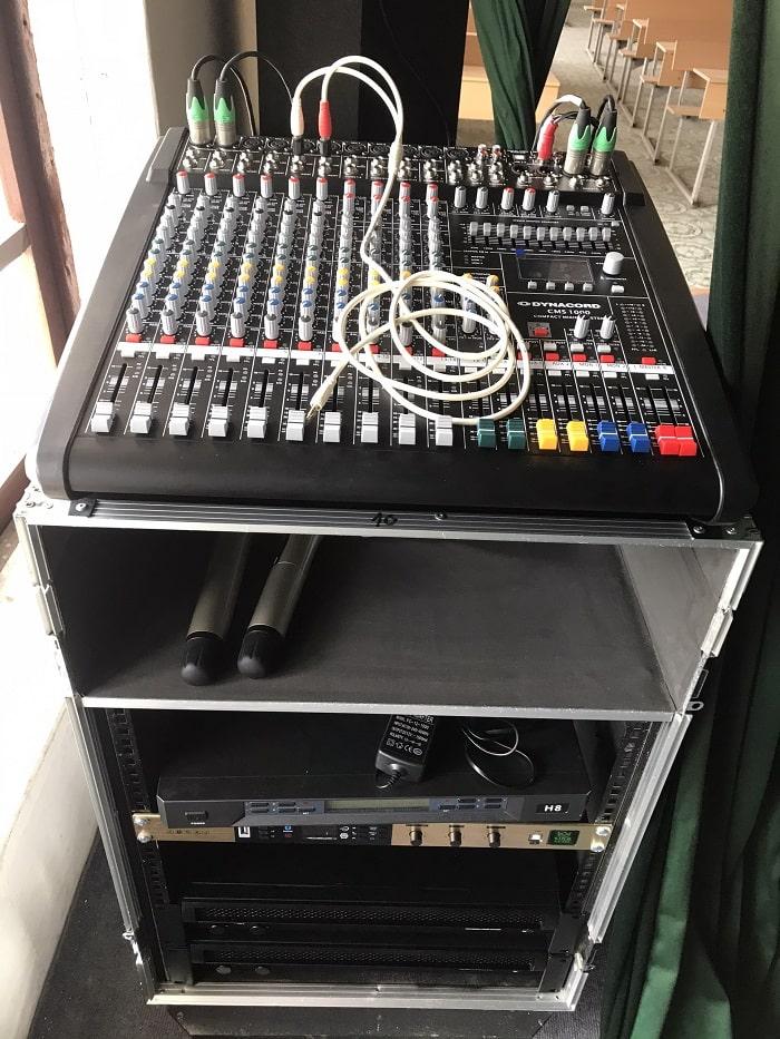 Những thiết bị âm thanh chuyên nghiệp phục vụ bộ dàn