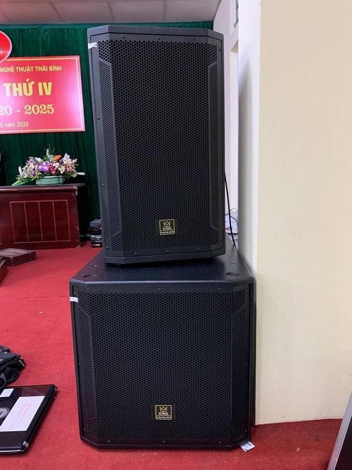 Loa hội trường KING AUDIO nhập khẩu chính hãng có mặt trong dàn âm thanh