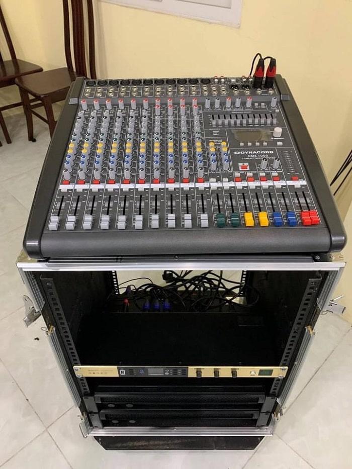 Hệ thống thiết bị xử lý chuyên nghiệp mang lại chất lượng âm thanh tuyệt vời