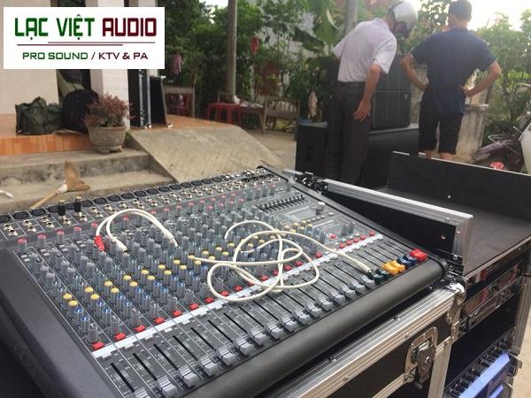 Bàn mixer Dynacord cms1600 được cung cấp trong dàn âm thanh của anh Hòa