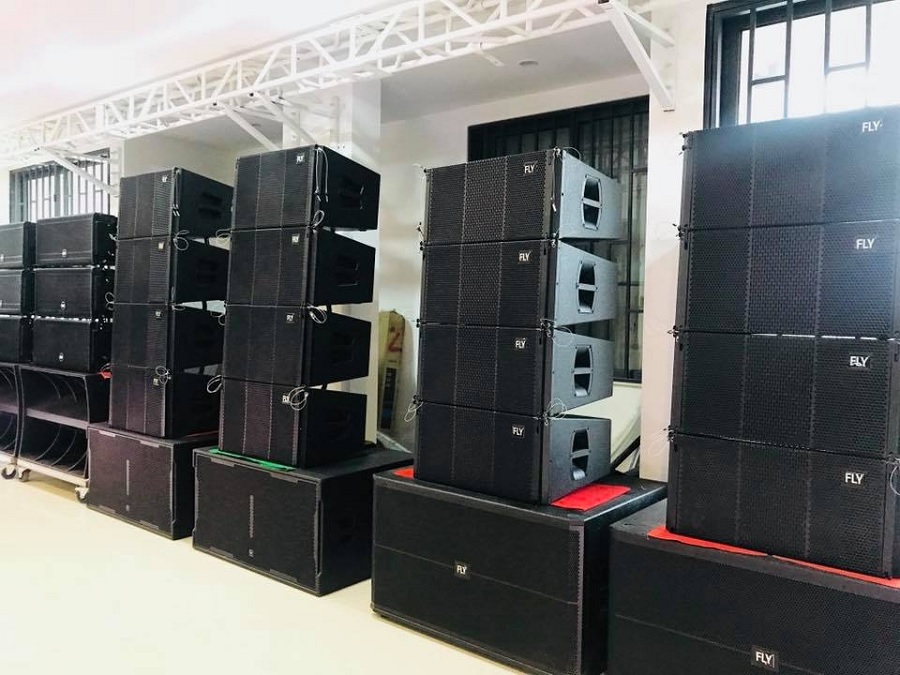 Showroom Lạc Việt Audio trung bày các dòng loa array FLY