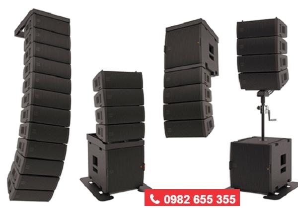 Các dòng loa array bán chạy tại Lạc Việt audio