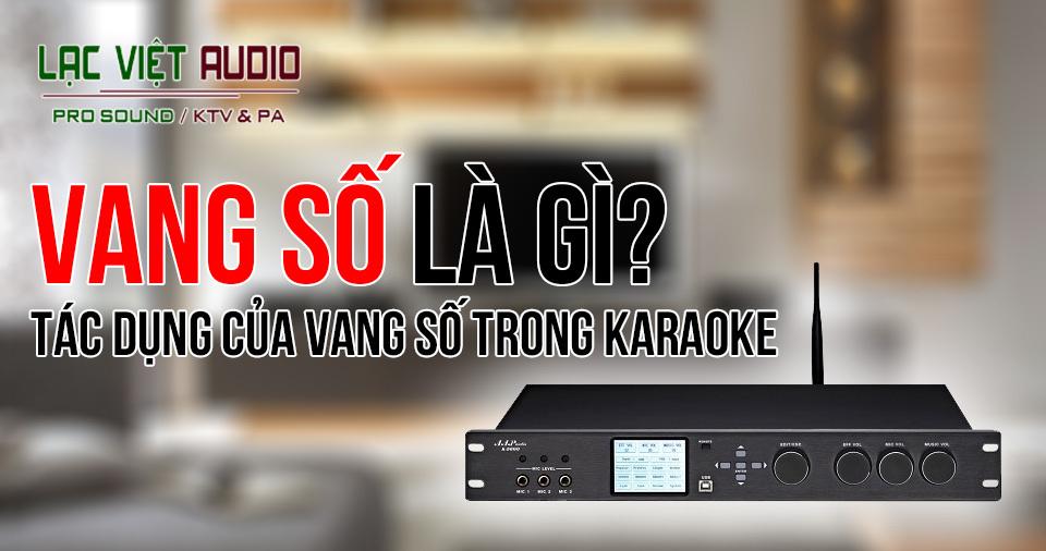 Vang số karaoke là gì? Tìm hiểu về vang số karaoke