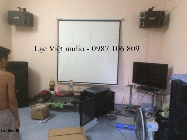 Tổng quan cả hệ thống phòng karaoke cao cấp của anh Tuấn