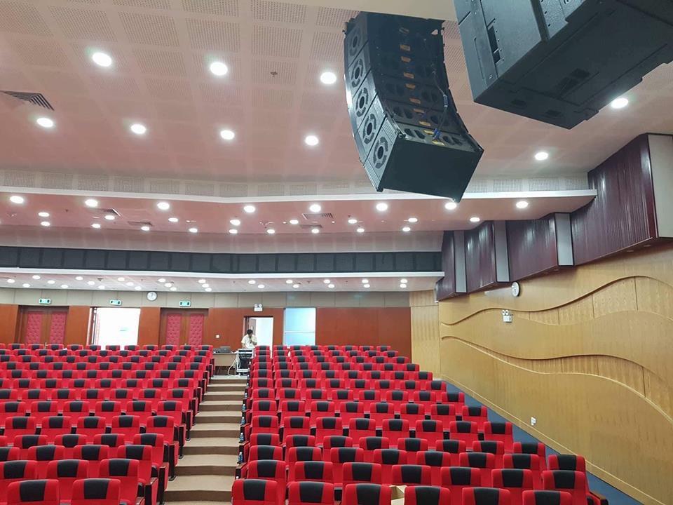 Lạc Việt Audio tự hào là đơn vị cung cấp âm thanh cho hội trường sân khấu