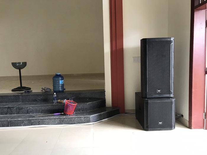 Lạc Việt Audio lắp đặt Combo dàn âm thanh tận nơi cho khách hàng