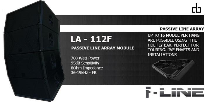 Loa DB LA-112F nhập khẩu chính hãng
