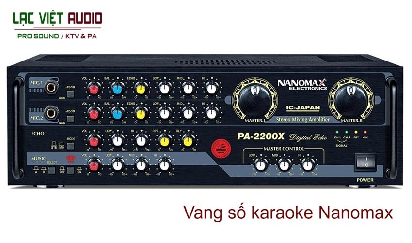 Vang số karaoke Nanomax