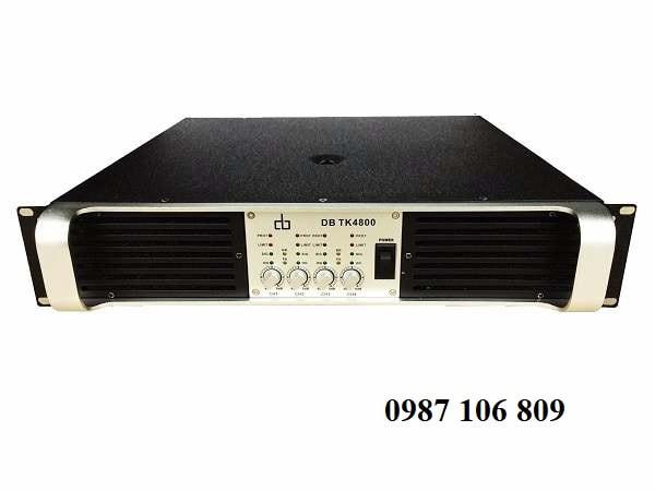 Cục đẩy công suất 4 kênh DB TK4800