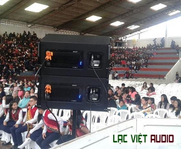 Loa array Admark cho âm thanh sân khấu