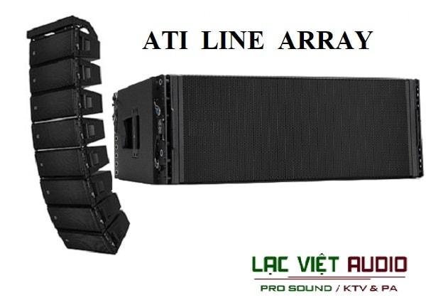 Loa array Ati và những thông tin cơ bản về thương hiệu Ati