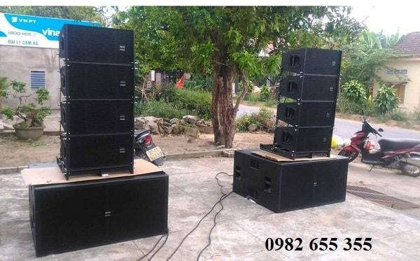 Loa array Maxo cho âm thanh ngoài trời