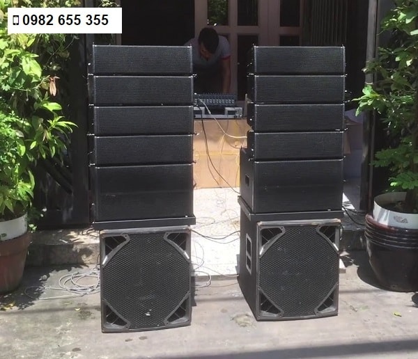 Loa line array mini Lạc Việt Audio