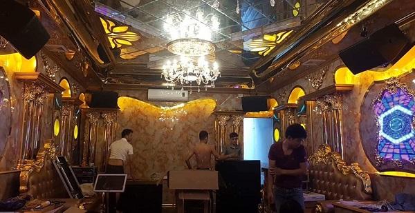 Loa CF TC12 được lắp tại 1 chuỗi 18 phòng karaoke VIP tại Hà Nội