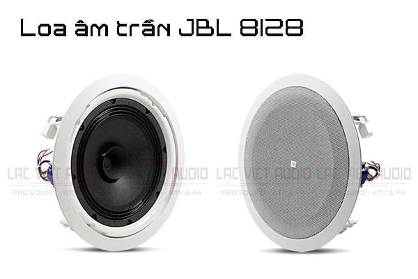 Giới thiệu Loa âm trần JBL 8128