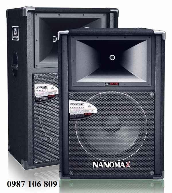 âm thanh sân khấu Nanomax