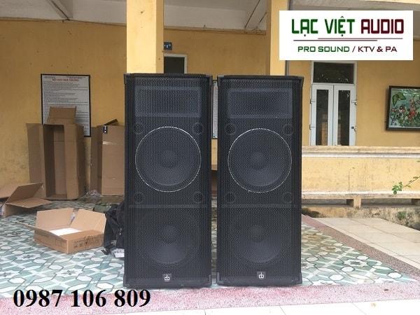 Dàn âm thanh sân khấu ngoài trời cho trường tiểu học tại Thanh Trì – Hà Nội