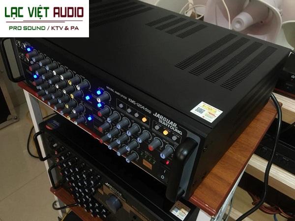 Amply Jarguar KMS1204 thiết kế bắt mắt gọn nhẹ