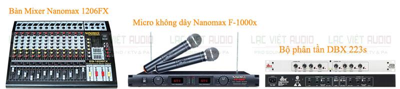 Bộ âm thanh hội trường Nanomax