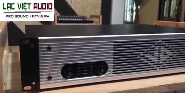 Cục đẩy JD 500I sử dụng 2 kênh độc lập với công suất 500W/1CH