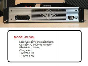 Bán cục đẩy JD 500I