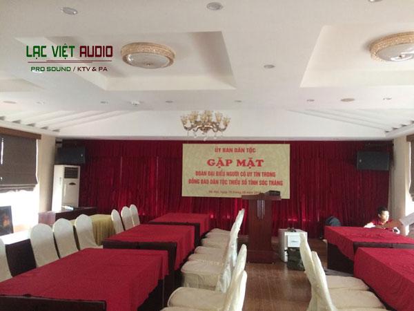 Lắp đặt dàn âm thanh hội trường cho Nhà khách dân tộc