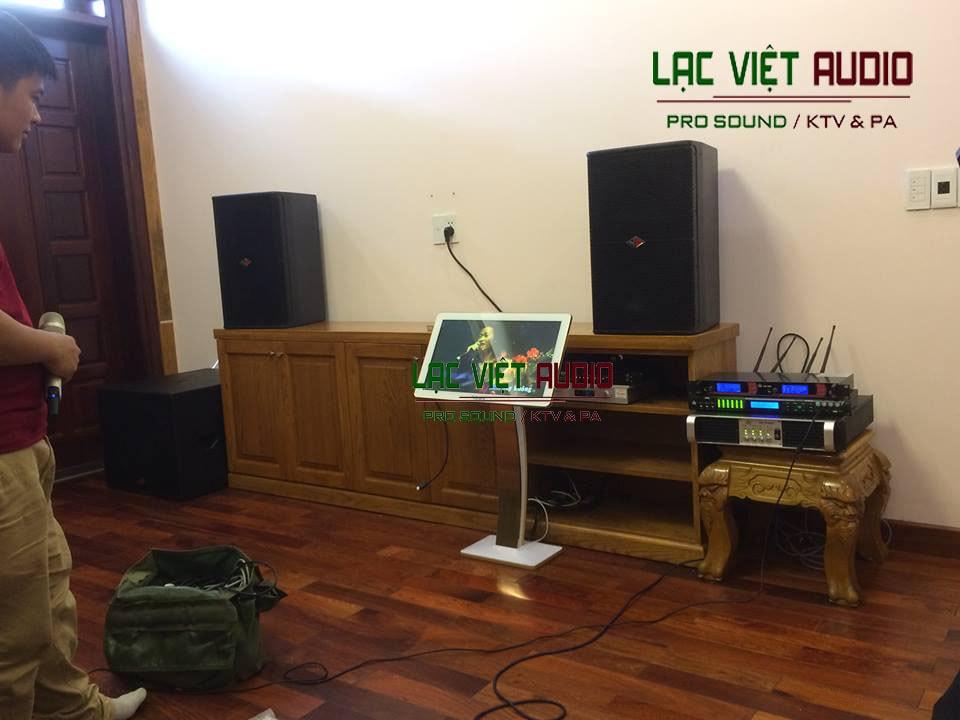 Trọn bộ hệ thống âm thanh chât lượng cho anh Tuấn