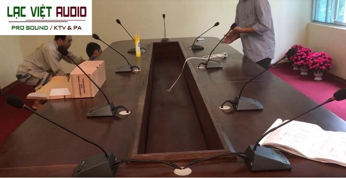 Dự án âm thanh phòng họp hội thảo đại biểu