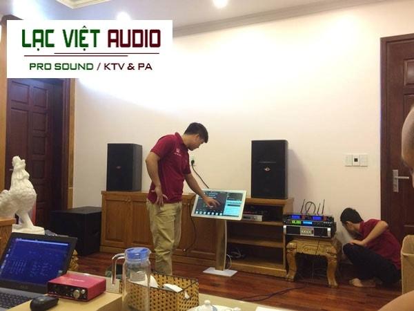 Lạc Việt audio với đội ngũ kỹ sư âm thanh giàu kinh nghiệm