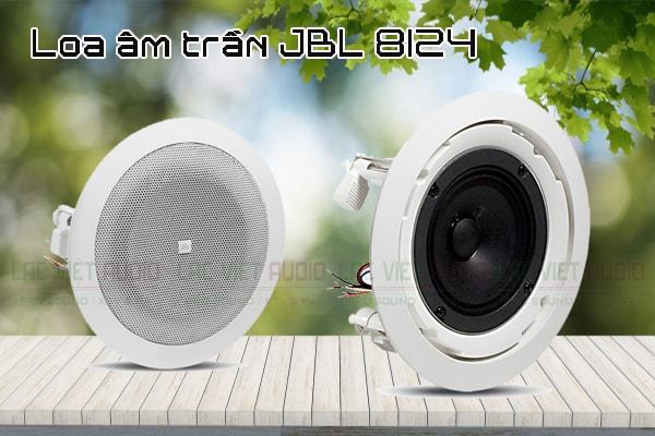 Thiết kế của sản phẩm loa âm trần JBL 8124